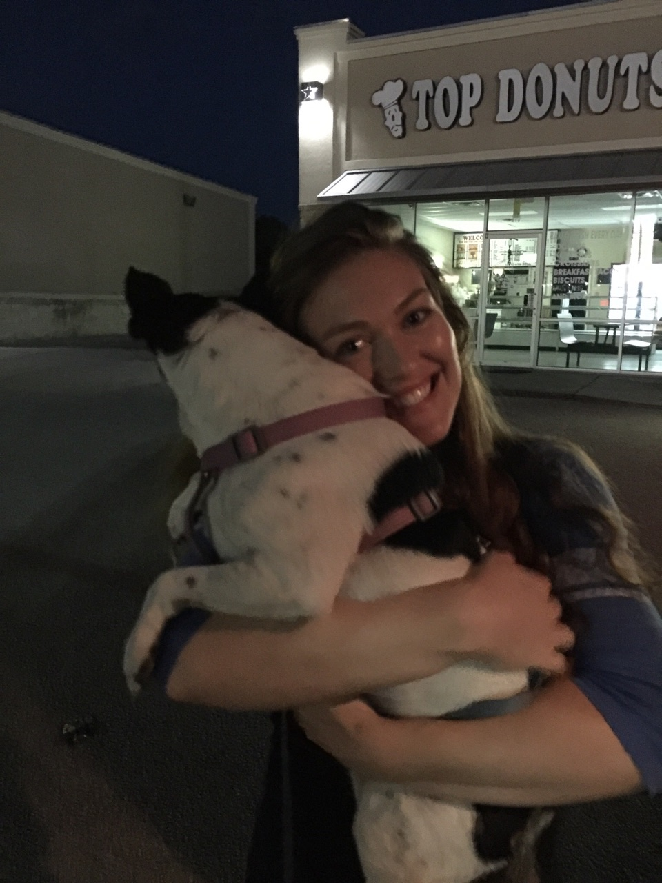 Dropoff for Vicki Jorgensen. Lola ​was ​delivered to her daughter-in-law Jessalyn​.​ She looks so happy!​